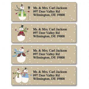 Let it Snow  Classic Address Labels  (4 Designs)