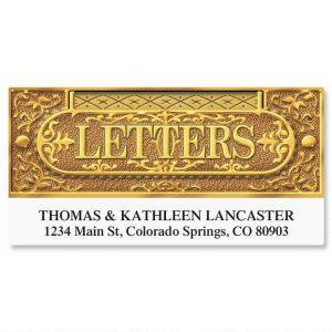 Letter Slot Deluxe Address Labels