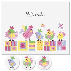 Little Chickee Personalized Note Cards
