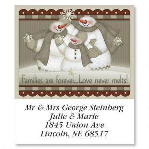 Love Never Melts   Select Address Labels