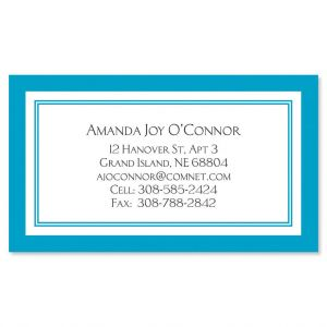 Luxe Fresh Water Business Cards