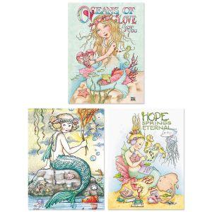 Mary's Mermaids Custom Note Cards by Mary Engelbreit®