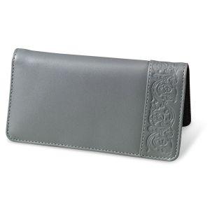 Mercury Magic Leather Checkbook Cover