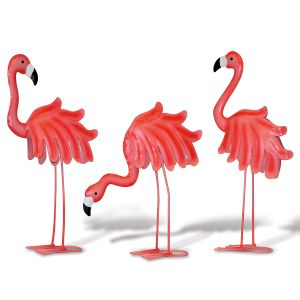 Metal Flamingo