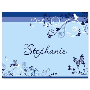 Midsummer Flight Personalized Note Cards