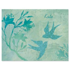 Nature Song Personalized Note Cards
