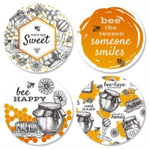 Oh Sweet Honey Envelope Seals  (4 Designs)