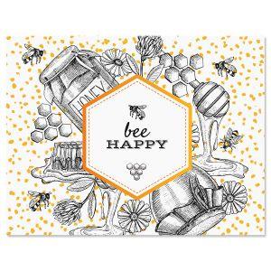 Oh Sweet Honey Custom Note Cards