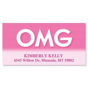 OMG  Deluxe Address Labels