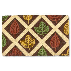 Leaf Rubbing Doormat