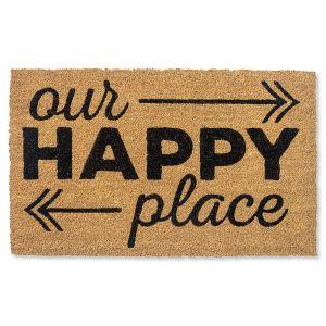 Our Happy Place Coir Doormat