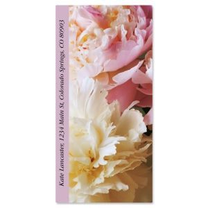 Pale Rose Oversized Address Labels