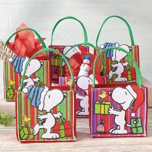 PEANUTS® Felt Treat Bags