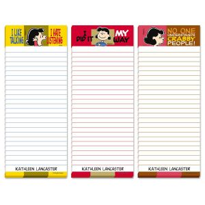 PEANUTS®  Loud & Clear Personalized Memo Pads