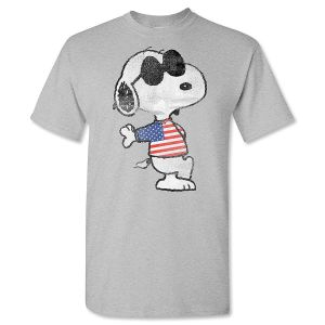 PEANUTS® Patriotic Adult T-Shirt