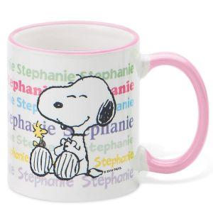 PEANUTS® Personalized Pastel Mug