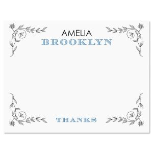 Pentimento Thank You Cards