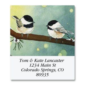 Pine Birds Select Address Labels