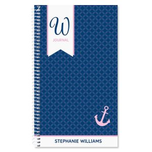 Ribbon Initial Personalized Journal