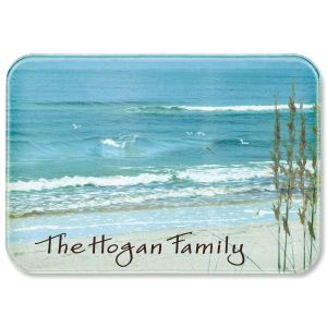 Seashore Welcome Personalized  Cutting Board