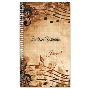 Sheet Music Personalized Journal