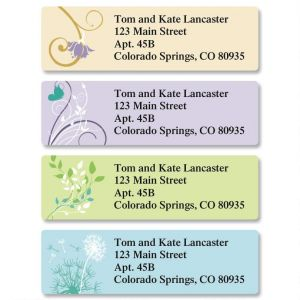 Silhouette Classic Address Labels  (4 Designs)