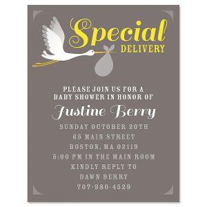 Special Delivery Invitation