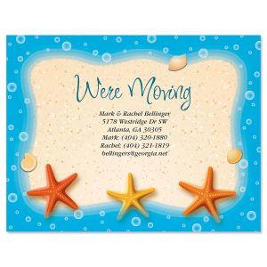 Starfish Trio Postcards