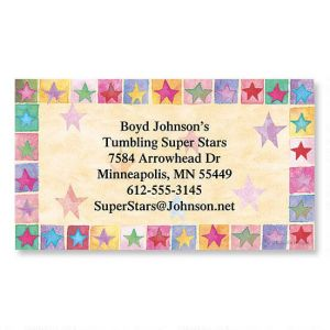 Stars on Parade Business Cards