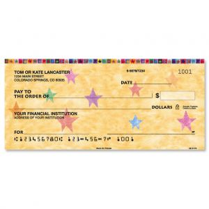 Stars on Parade Personal Checks