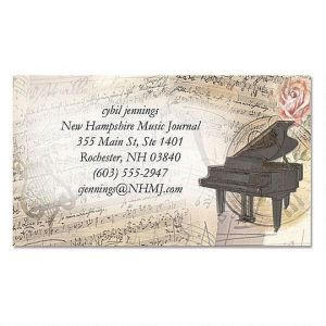 Sweet Melody Business Cards