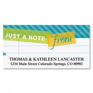 Tape a Note Deluxe Address Labels