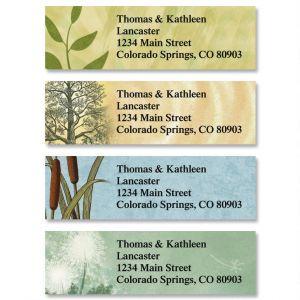 Textures Classic Address Labels  (4 Designs)
