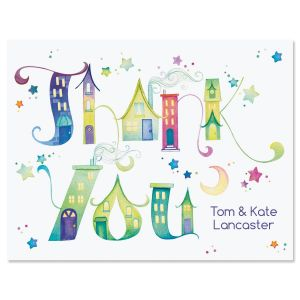 Town Talk Personalized Note Cards