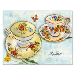 Treasures of Home Personalized Note Cards