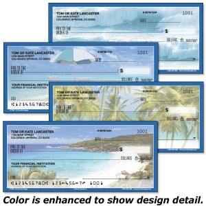 Tropical Paradise II Personal Checks