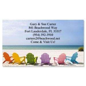 Tropical View Business Cards