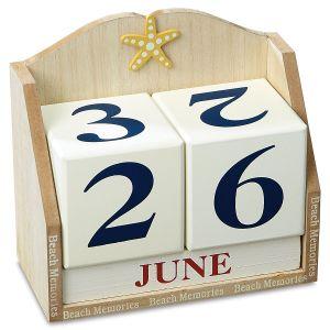 Nautical Block Perpetual Calendar