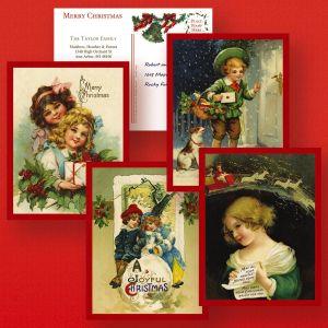 Vicki's Victorian Christmas Postcards