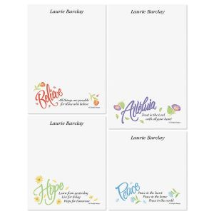 Words of Praise Memo Pad Set