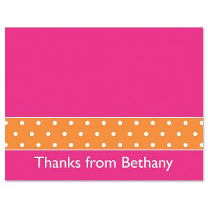 Zesty Dots Thank You Cards