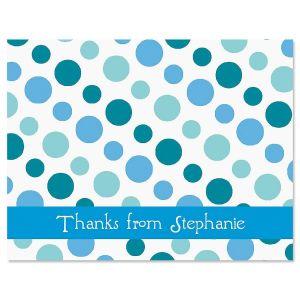 Zippy Dots Custom Thank You Cards