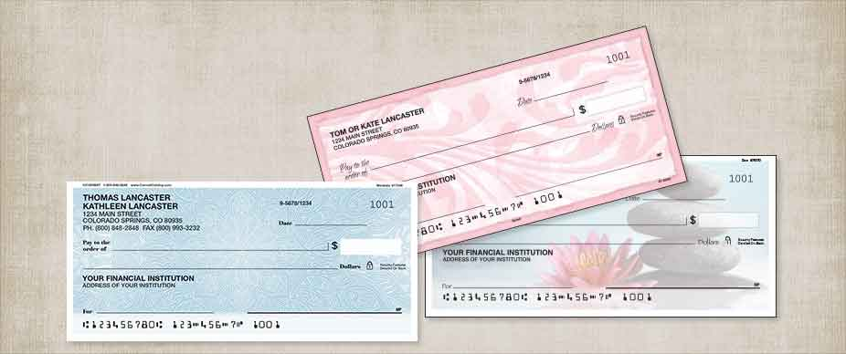 Shop New Personal Checks at Colorful Images