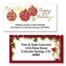 Shop Christmas Decoration Labels at Colorful Images