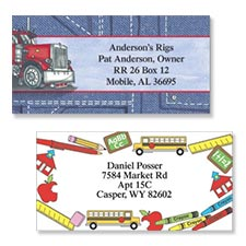 Shop Professions Labels at Colorful Images