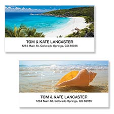 Shop Beach Labels at Colorful Images