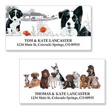 Shop Dog Labels at Colorful Images