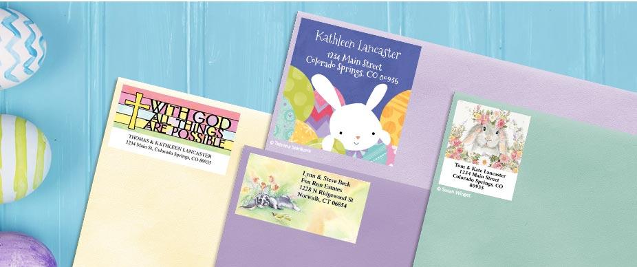 Shop Easter Labels at Colorful Images