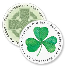 Shop St. Patrick's Day Labels at Colorful Images