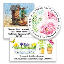 Shop Address Labels at Colorful Images